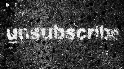 Unsubscribe Graffiti